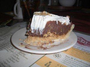 My Chocolate Peanut Butter Cream Home-Made Pie