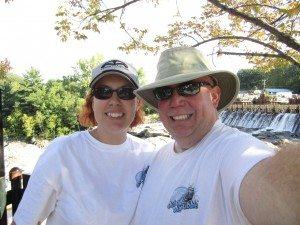 David & Brenda in Sherbourne Falls, Massachusetts