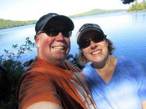 David & Brenda At Eagle Lake