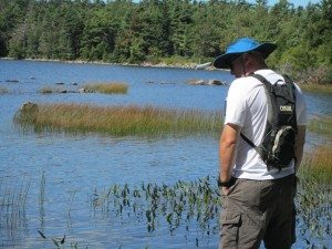Jonathan Checking Out Eagle Lake