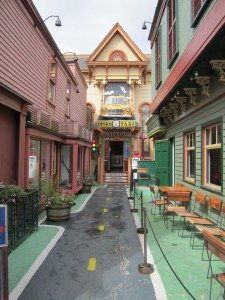 Bar/Restaurant That Has A Great Taxi Theme