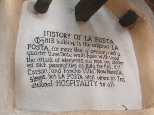 Little History On La Posta