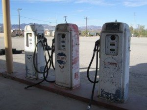 Gas Pumps Outside The Desert Center Cafe. Obviously Not In Working Order Anymore.