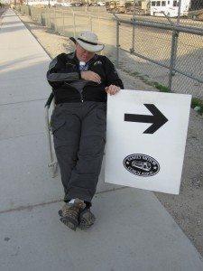 David Sleeping On The Job