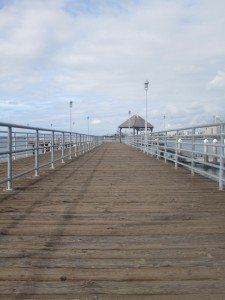 The End Of The Pier At Ferry Landing