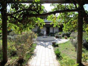 The Gardens Outside The La Casa de Estudillo. This Was Considered A Mansion Back Then.
