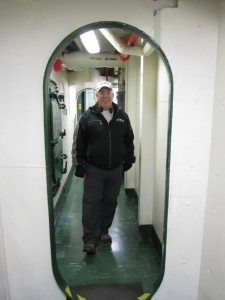David Aboard The USS Midway