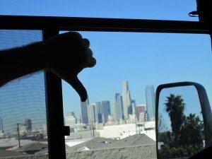 David's View Of Downtown LA