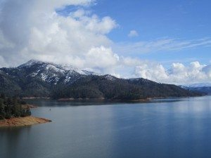 Shasta Lake, Northern California. Picture Taken While Driving 55 MPH.