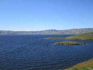 San Luis Reservoir State Recreation Area In Gustine, CA