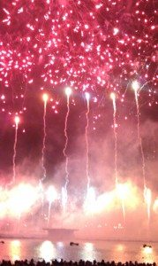 International Fireworks Competition In Montreal