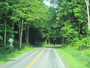 Driving Back From Keuka Lake To Rochester, NY