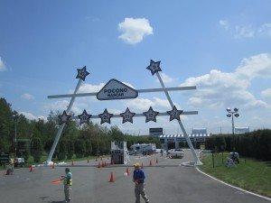 Pocono Raceway Entrance