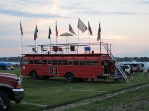 An RV Modeled After General Lee From The Dukes Of Hazzard
