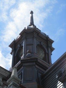 The Steeple On The Old Building