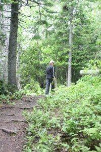 Brenda On The Hiking Trail