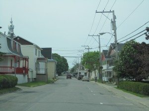 The Town Of Trois Pistoles In Quebec, Canada