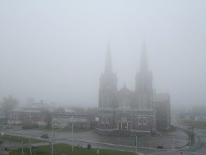 The Church In Fog