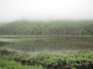 A Fisherman On A Still Lake
