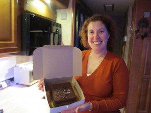 Our Anniversary Cake...YUM!