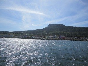 A View Of Town From The Pier