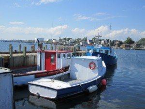 A Fishing Boat At The Marina