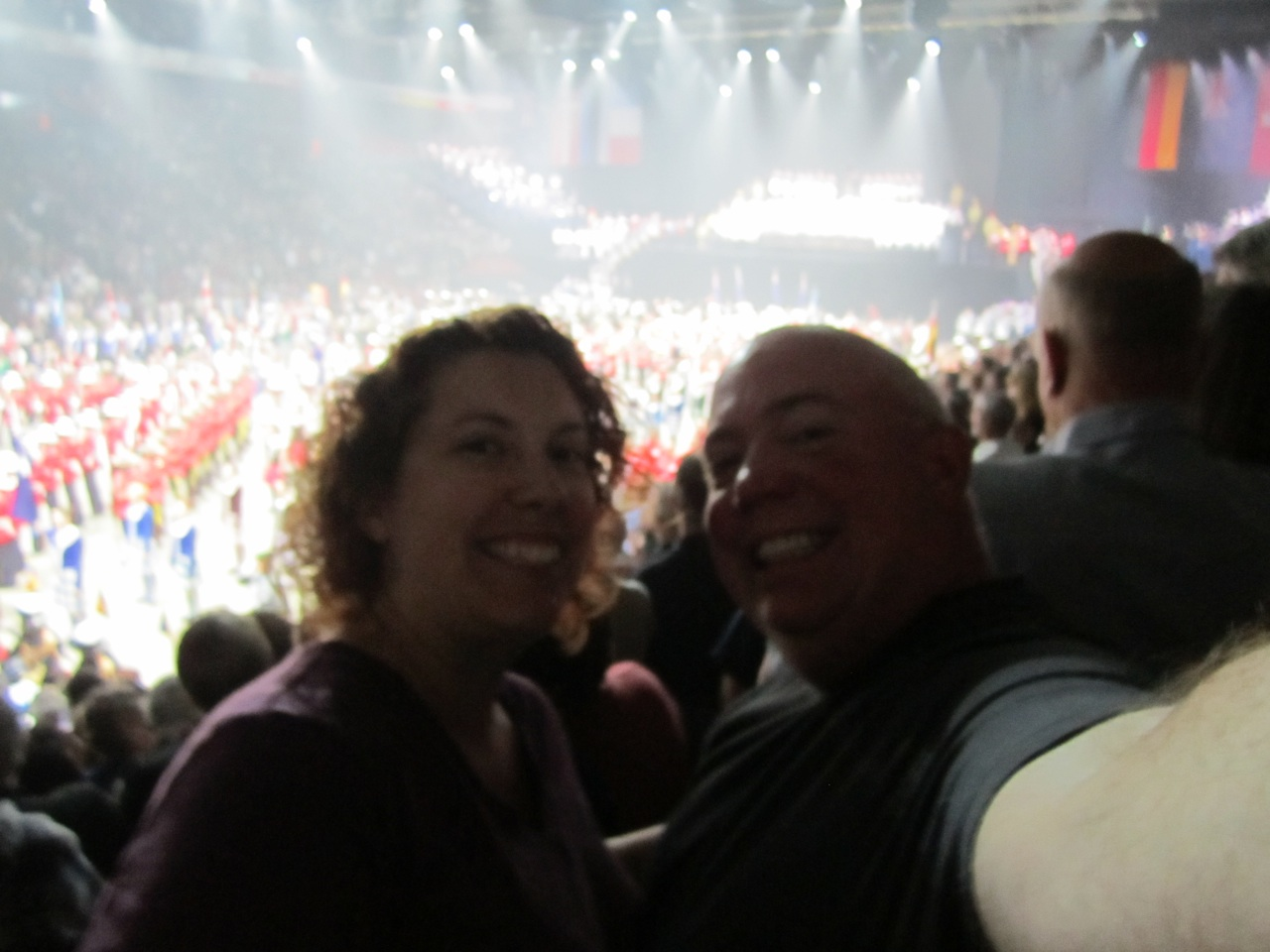 David And Brenda At The Royal Nova Scotia International Tattoo
