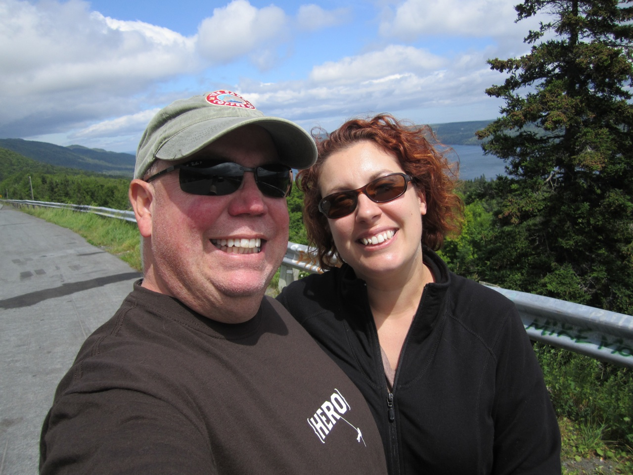 David And Brenda At The Overlook
