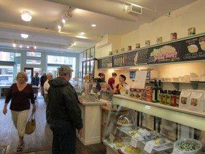 Inside Rocket Cafe On Water Street In Downtown St. John's