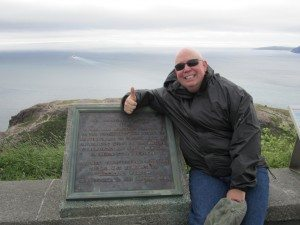The Plaque Commemorating The First Wireless Signal That Was Received On Signal Hill