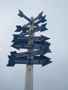 The Sign Post At Signal Hill
