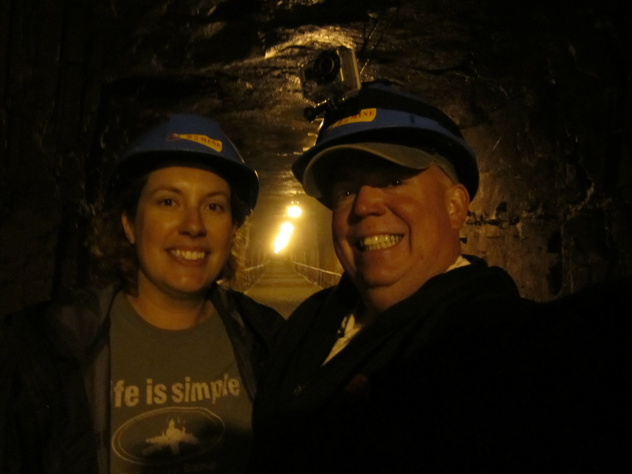 David And Brenda On The Mine Tour