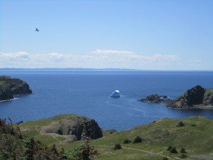 Another Iceberg In The Bay In Twillingate