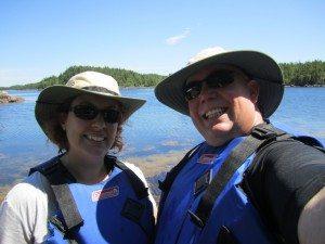 David And Brenda Out Kayaking