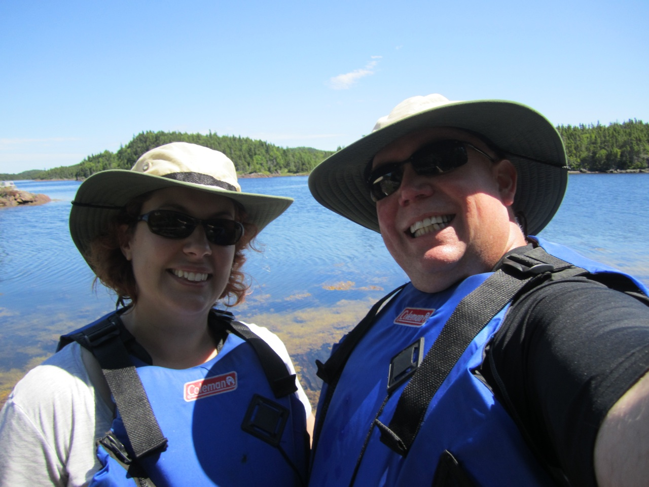 David And Brenda Out Kayaking