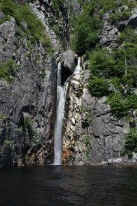 A Waterfall In The Fjord
