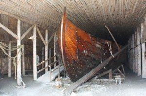 A Viking Boat Replica