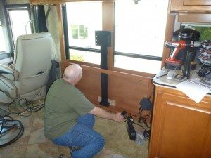David Installing The TV Lift