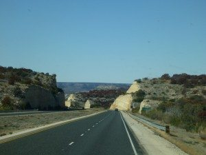 Driving Through Texas Hill Country