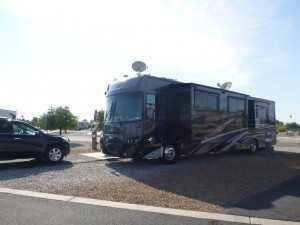 Our Site At The Lazydays RV Campground In Tucson, AZ