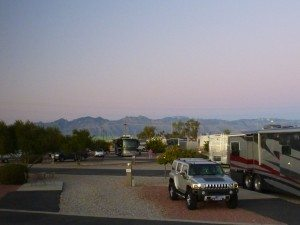 Our View From Our Coach At The Lazydays RV Park In Tucson, AZ