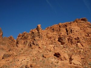 Some Of The Mountainous Rock Formations In Valley Of Fire State Park