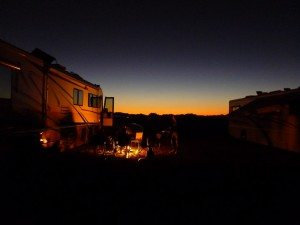 Nice Campfires With Great Company