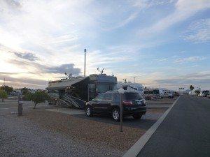 Our Site In Lazydays RV Campground In Tucson, AZ