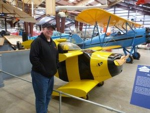 The World's Smallest Airplane, Named The Bumble Bee