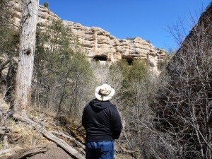 The First Spotting Of The Cliff Dwellings.