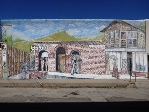 Mural On Side Of Building In Silver City, NM