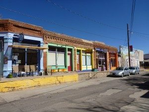 Old Historic Buildings In Silver City, NM
