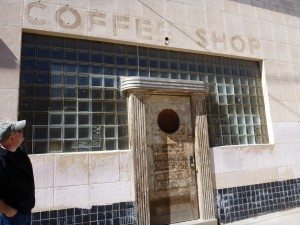 An Old Coffee Shop That's Now Obviously Closed