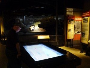 An Interactive Table Inside The National Museum Of The Pacific War